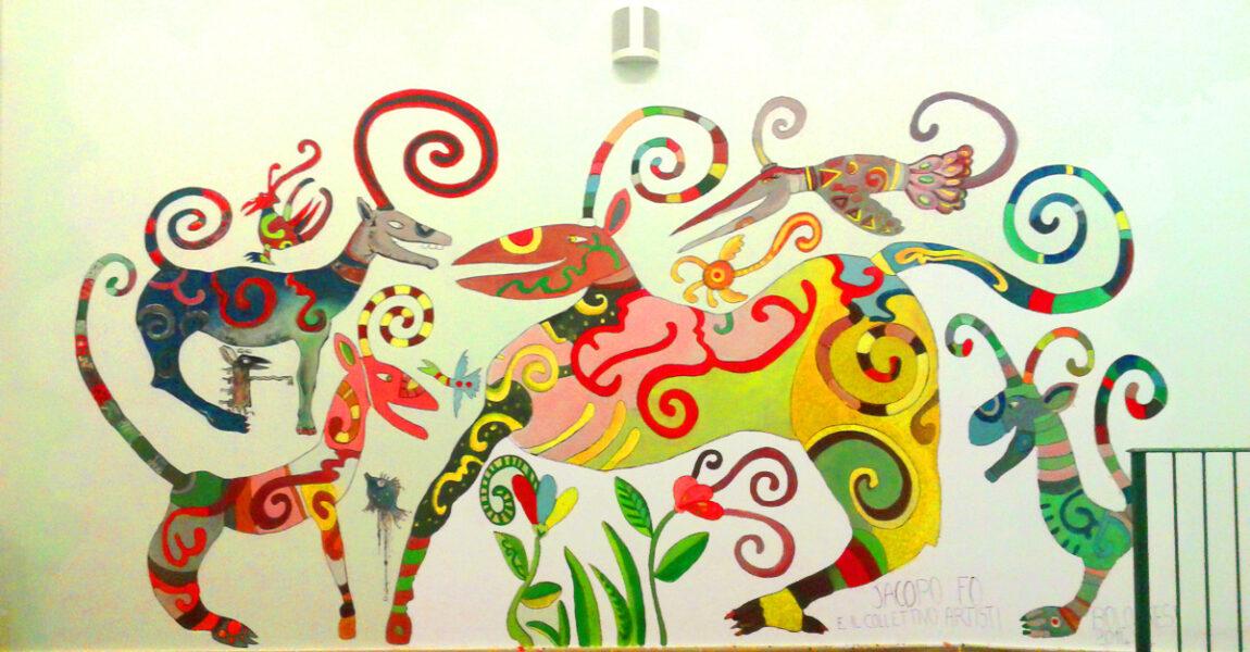 Il Murales di Arte Irregolare a Bologna